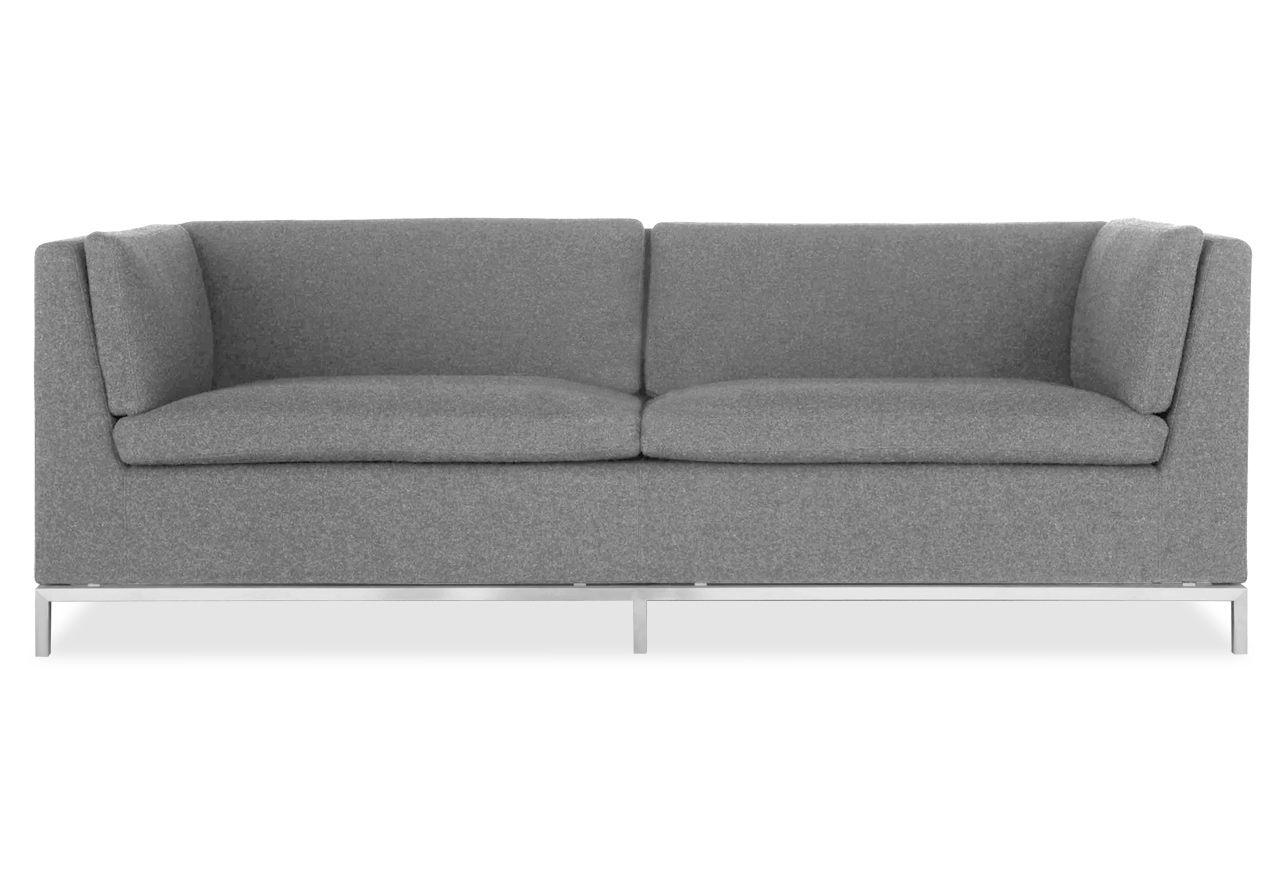 Unique Sofas Maxwell Sofa u Hellgrau avandeo M bel Online Shop
