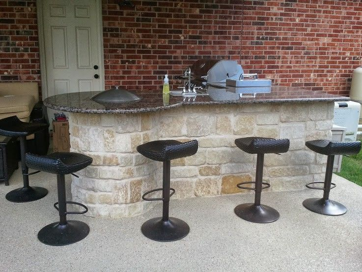 Outdoor Kitchens Katy Tx Outdoor Kitchen Build Outdoor Kitchen Covered Patio