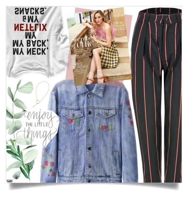 """""""Yoins: Stripe Pants"""" by yoinscollection ❤ liked on Polyvore featuring vintage"""