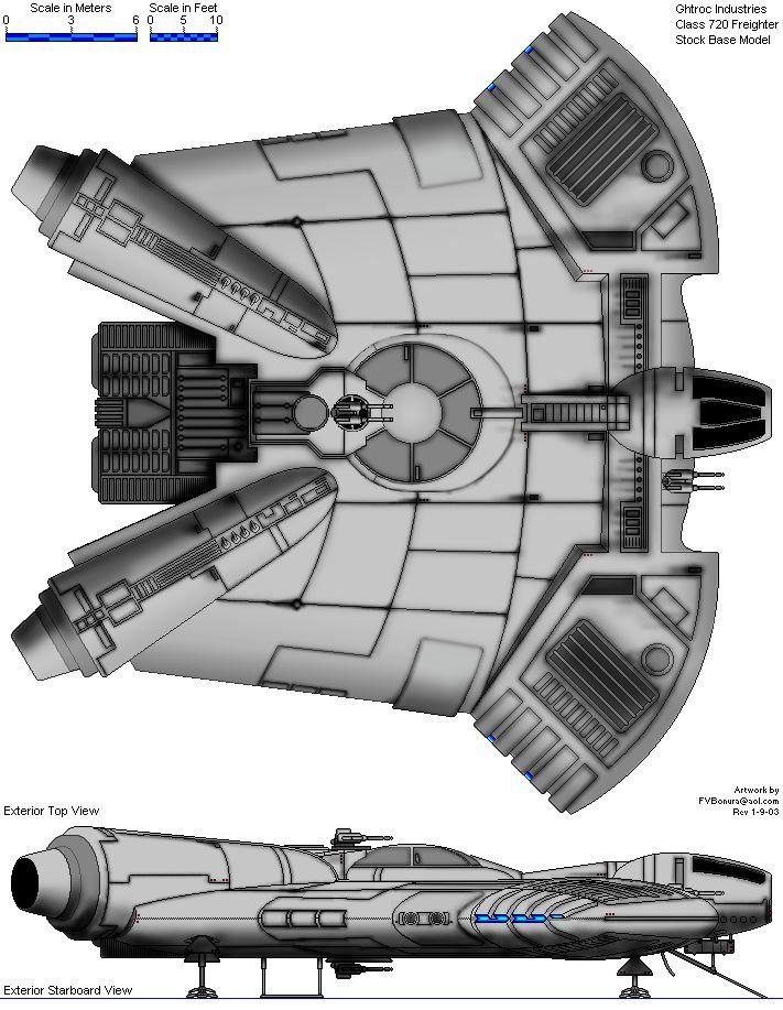 YZ775 medium transport Star Wars RPG Inspiration t