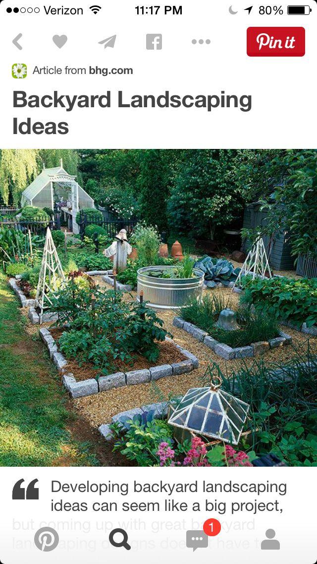 Garden, raised bed.
