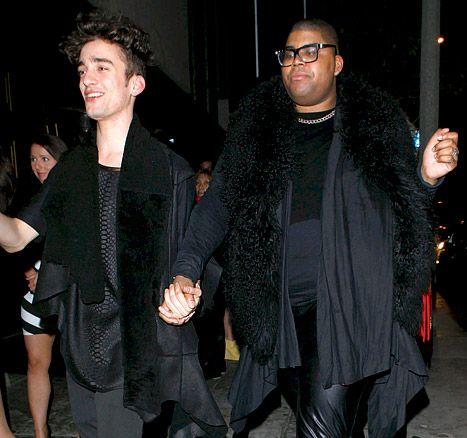 EJ Johnson holding hand with his affair boyfriend
