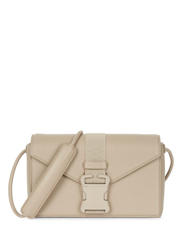 dcabc5371b CHRISTOPHER KANE Devine Shoulder Strap Bag. #christopherkane #bags #shoulder  bags #leather #canvas #lining #cotton #