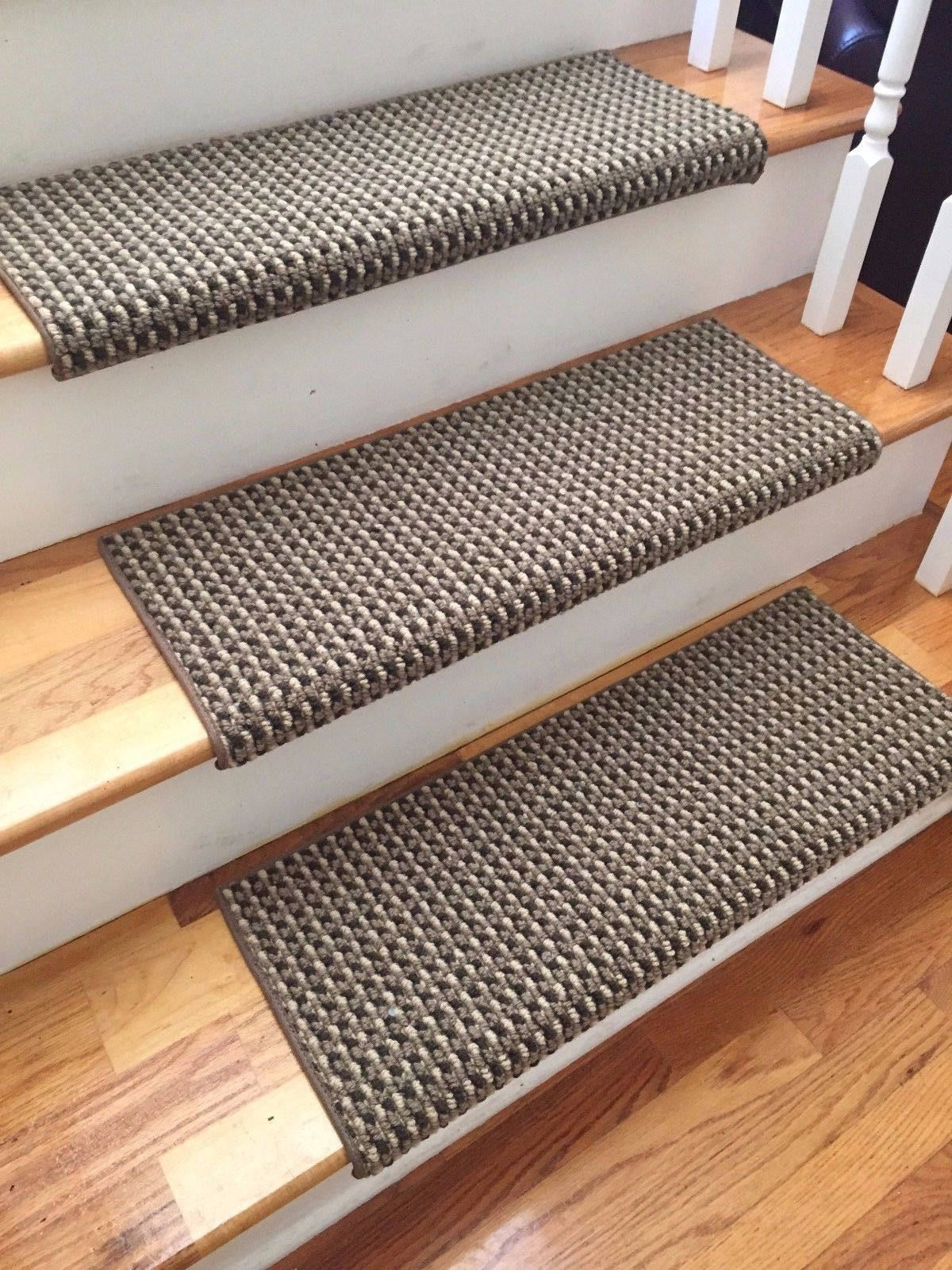 San Marco Cathedral Shadow New Zealand Wool True Bullnose Padded Carpet Stair Tread Runner Replacement Style Comfort Safety Sold Each Carpet Stairs Carpet Stair Treads Stair Treads