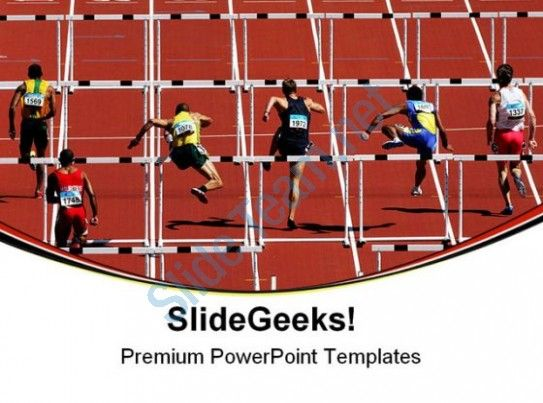 Hurdles sports competition powerpoint templates and powerpoint hurdles sports competition powerpoint templates and powerpoint backgrounds 0611 presentation themes and graphics slide01 toneelgroepblik Gallery