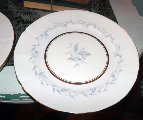 Mid-century (c.1950s) Northumbria AG Morning Mist large dinner plate. & Mid-century (c.1950s) Northumbria AG Morning Mist large dinner plate ...