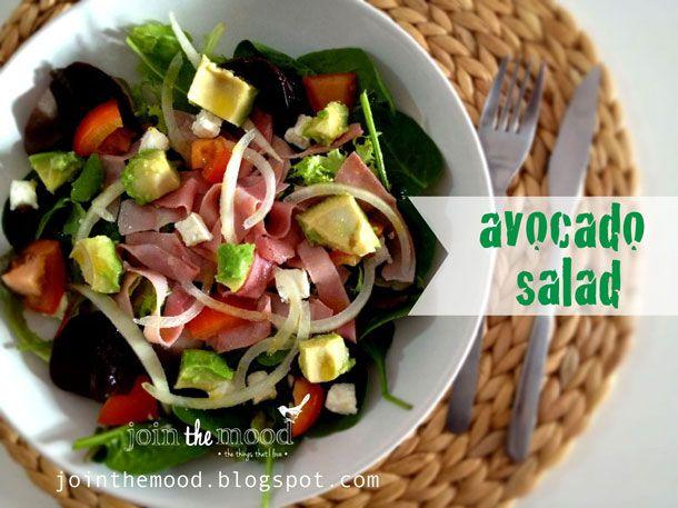 Join the Mood: AVOCADO SALAD / ENSALADA CON AGUACATE