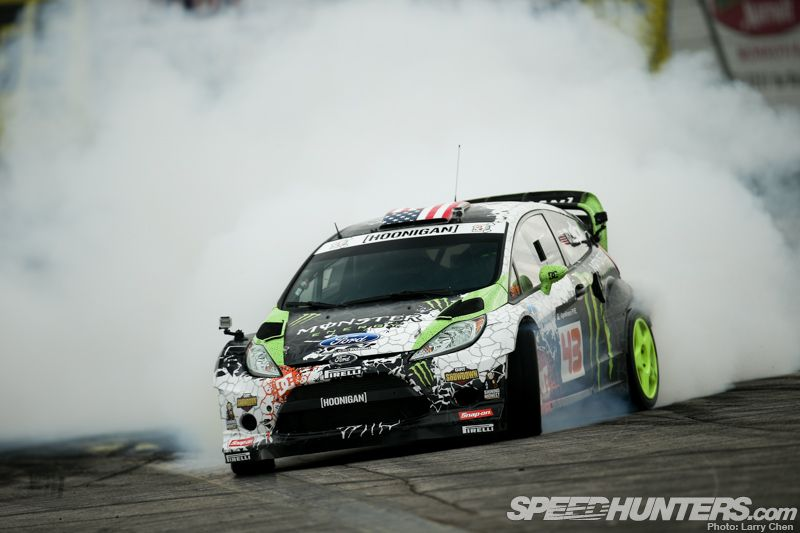 Ken Block Awd Drifts Irwindale Speedway Speedhunters Ken Block Drift Wallpapers Monster Energy