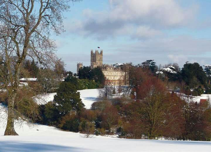 Highclere Castle in Winter | Highclere castle, Outdoor, Castle