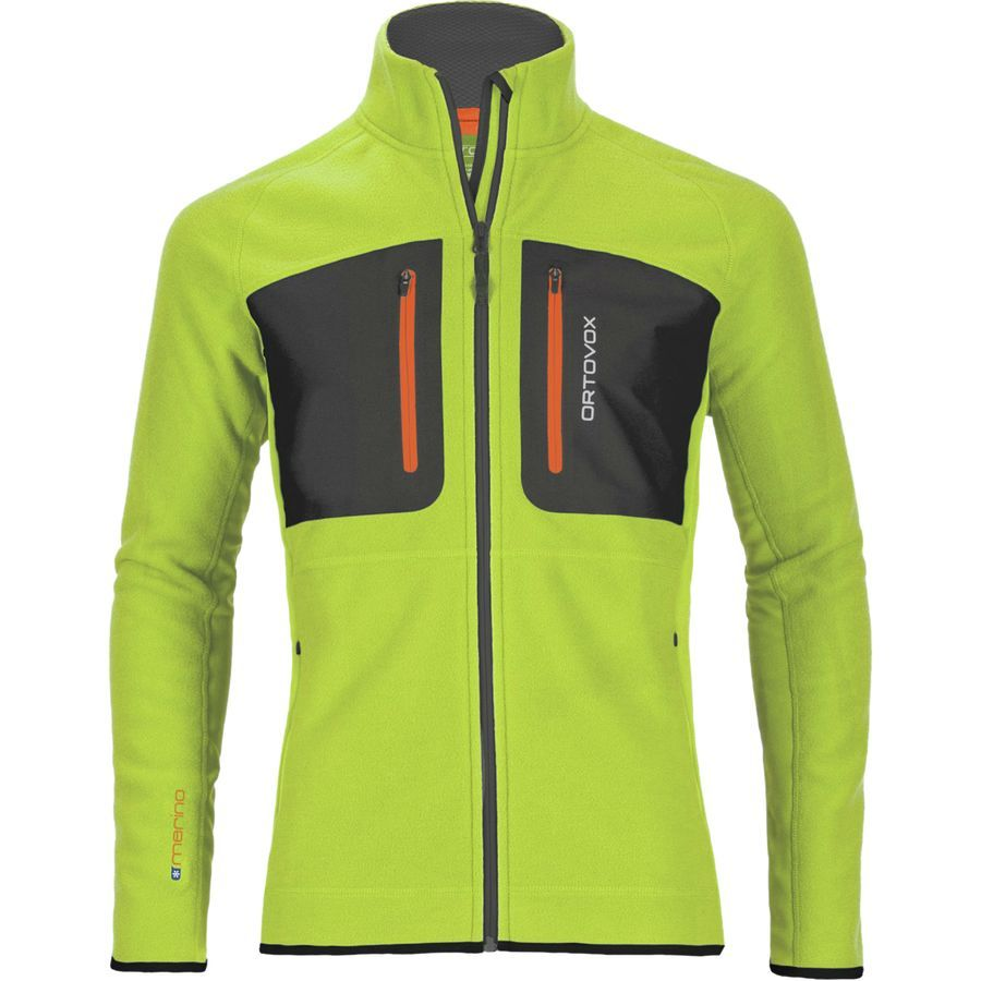 Ortovox tec fleece jacket menus happy green jacken pinterest