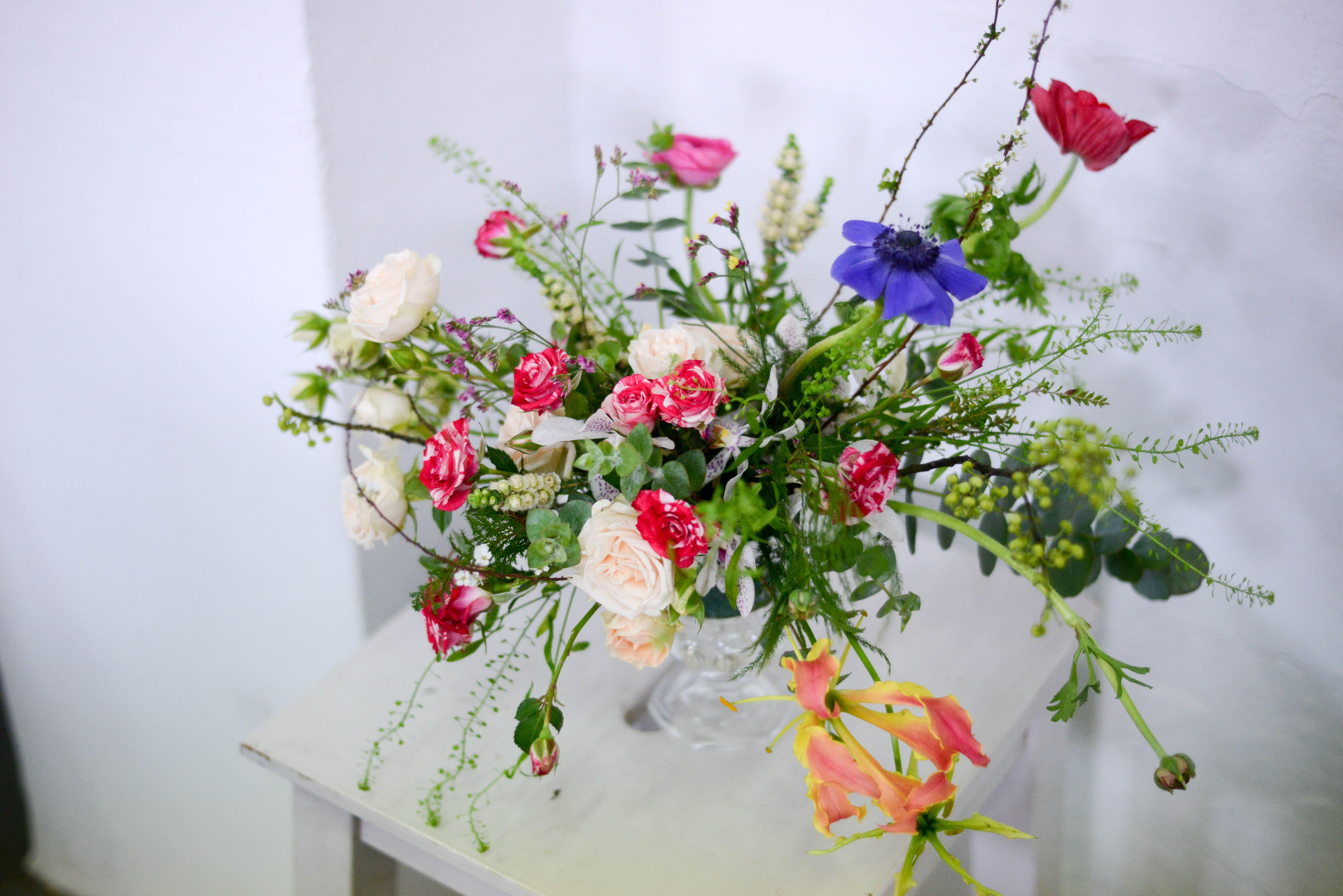 Dancing Florals By Poppy Dance Dance Dance Flowerworkshop