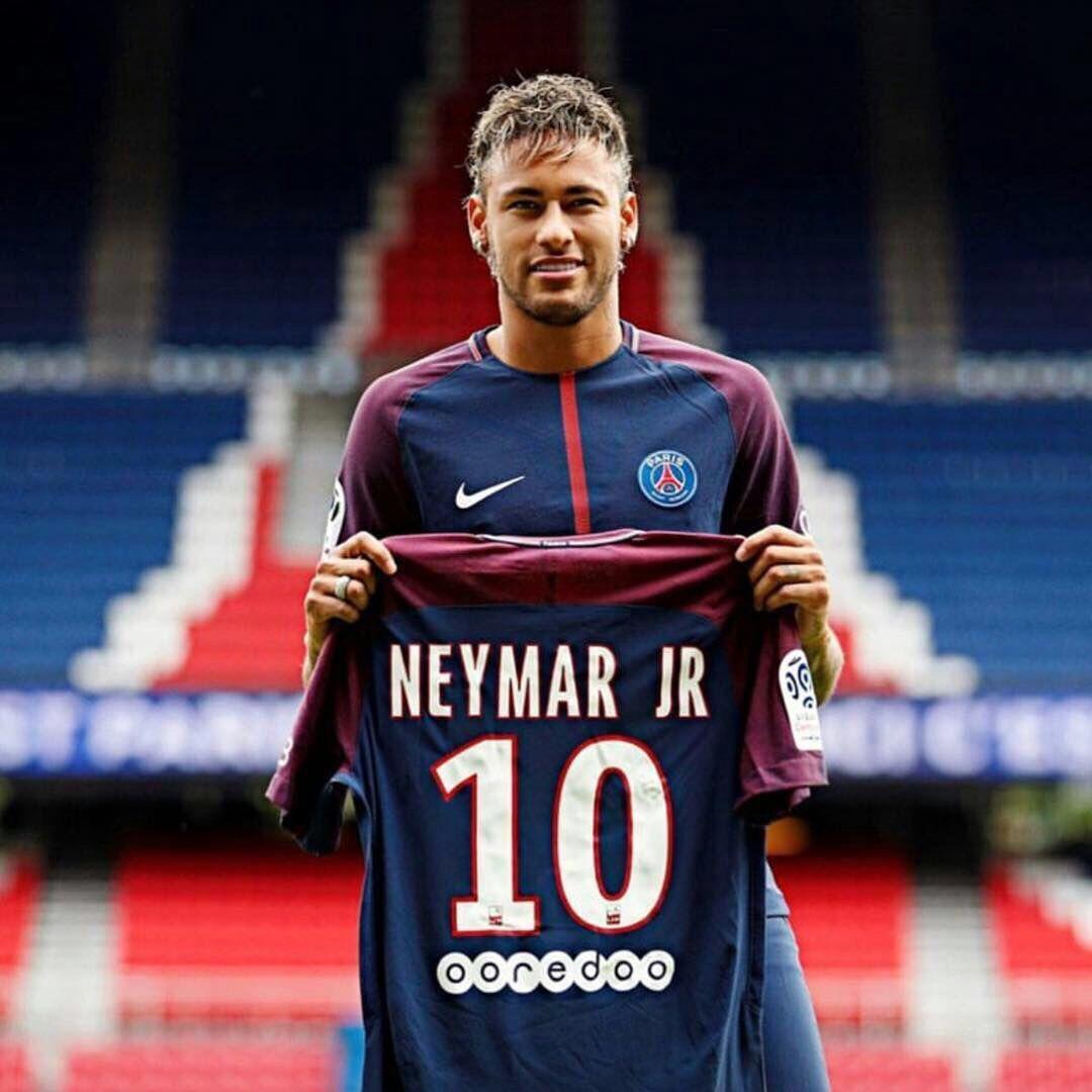 cf51b7d847f  10 Neymar JR Paris Saint-Germain FC Football Jersey - Authentic Mens 17 18  Ligue 1 Club Soccer Nike Home Short Shirt