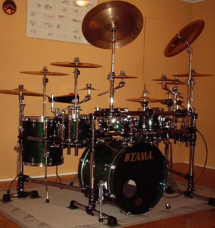 Therapy drumset. That's actually really cool. It'd sure ...