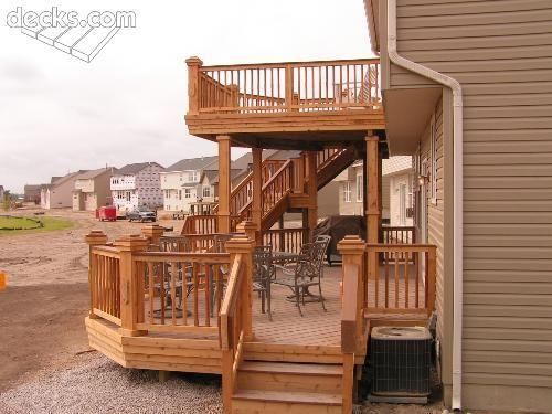 Multi Level Decks Multi Level Deck Picture Gallery Multi Level Deck Building A Deck House Deck