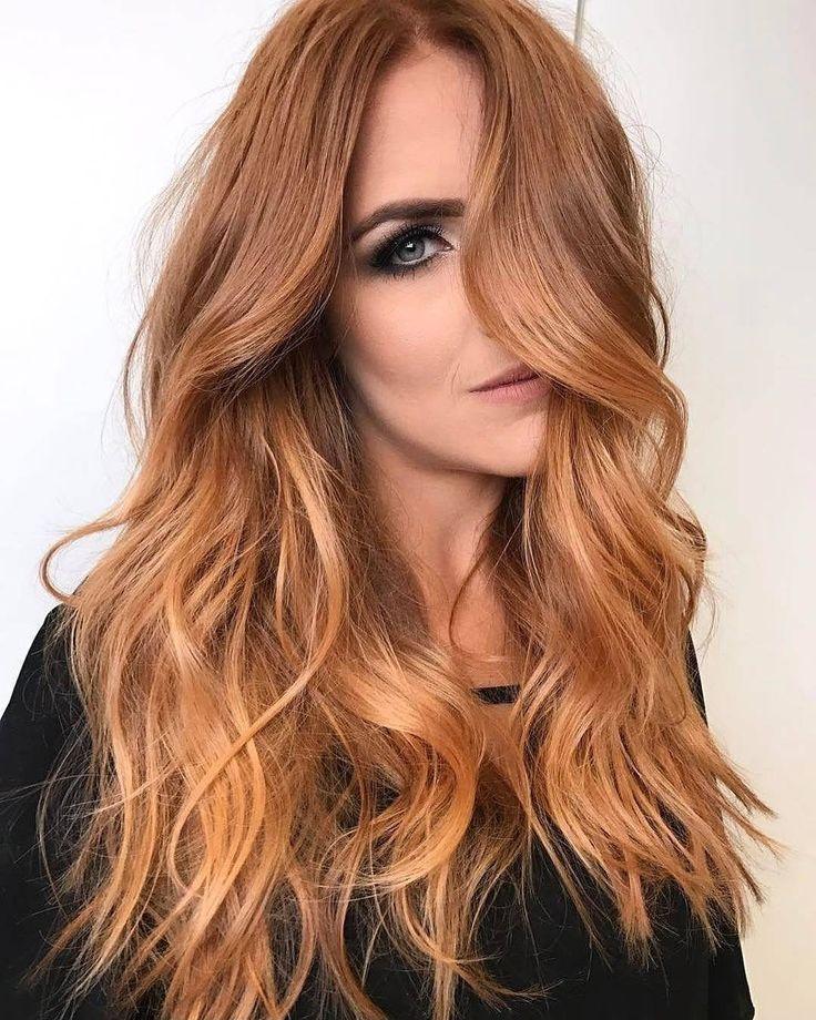 Warm Light Copper #haircolor #hairstyle #haarfarbe #frisuren