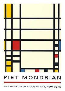 Piet Mondrian - de stijl