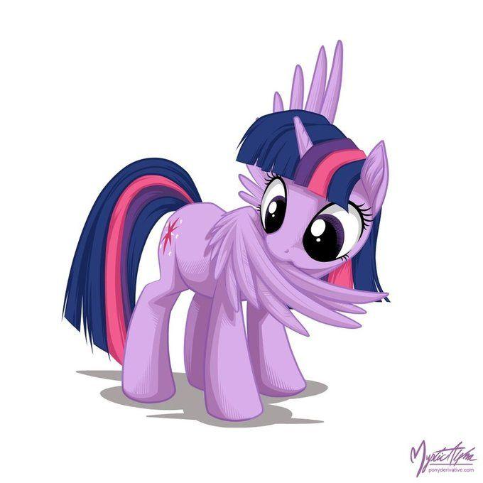 Cute Twilight Sparkle. MLP