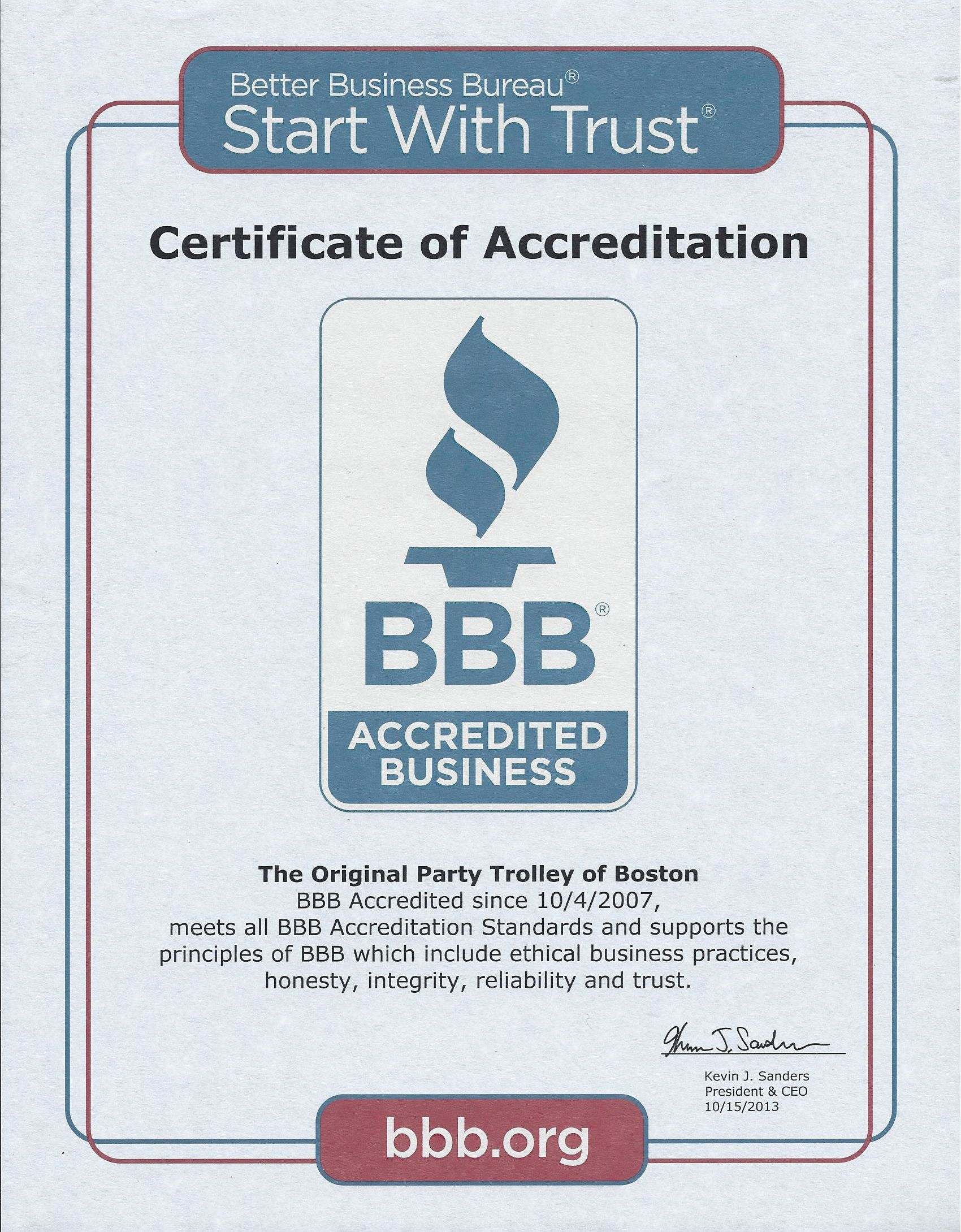 Bbb Accredited Since 10 4 07 Are You Happy Certificate Of Achievement Customer Complaints