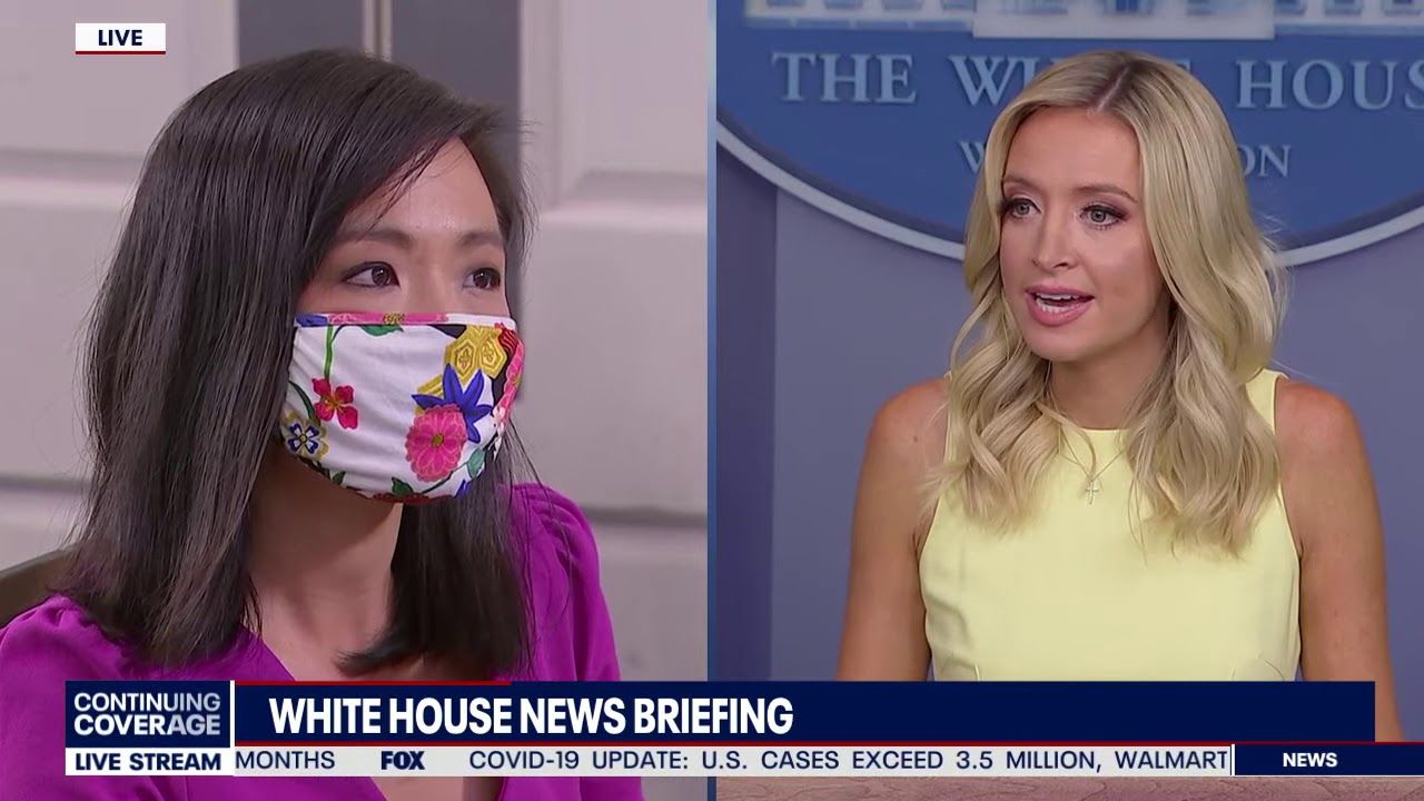 This Moment Kayleigh Mcenany Takes Back Control Of Briefing In 2020 Kayleigh Mcenany I Love America In This Moment