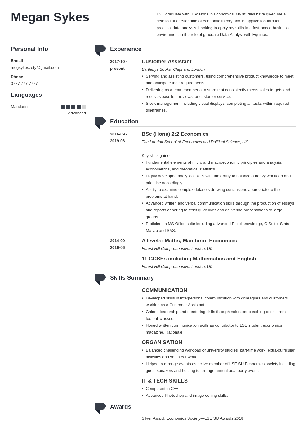 uk graduate cv example template muse Resume examples, Cv