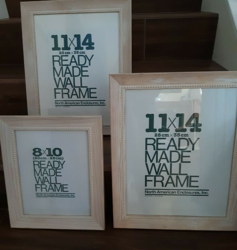 White Wash Beaded Picture Frames 3 Frames Ebay Link In 2020 Frame Frames On Wall Picture Frames