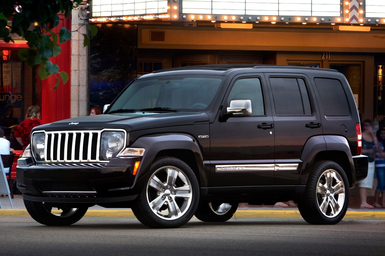 Jeep Liberty 2008 Limited with Sky Slider top. Jeep