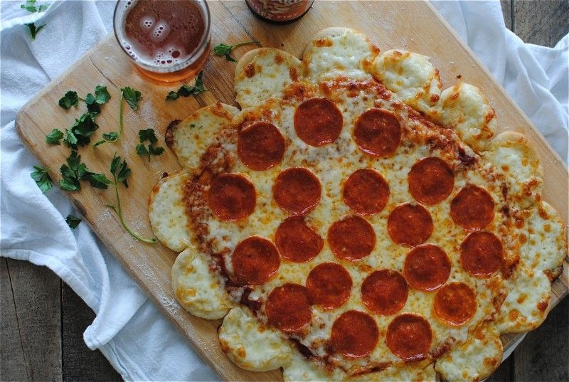 Crazy Copy Cat Cheese Crust Pizza {Tablespoon Tuesdays