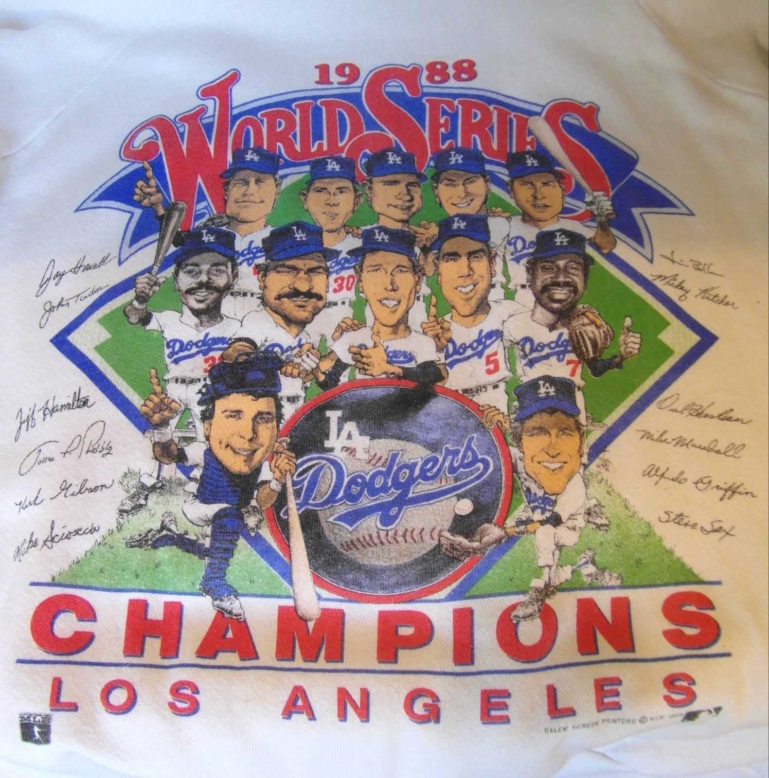 Los Angeles Dodgers World Series Champions Souvenir