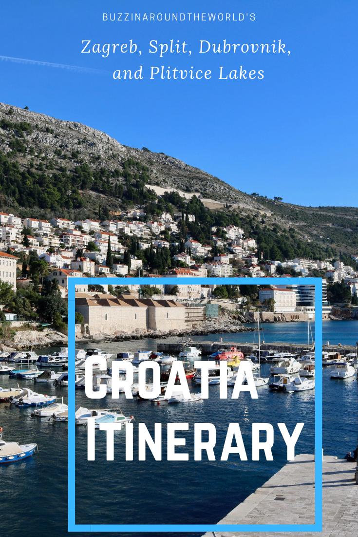 Croatia Itinerary Croatia Itinerary Plitvice Lakes National Park Plitvice Lakes