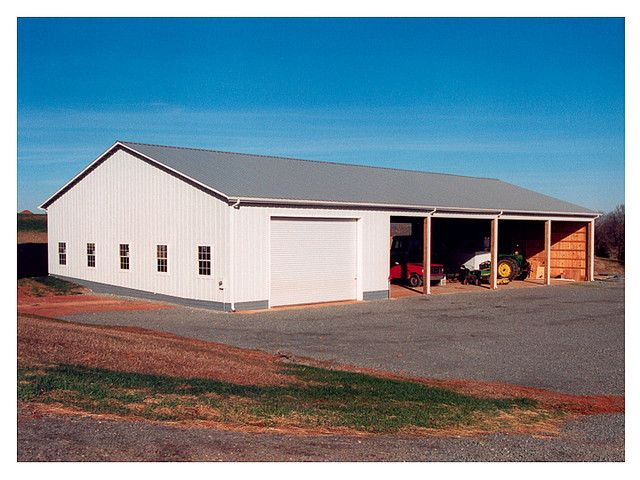 This 50 X 100 Barn In Orange County Va Has A Shop With