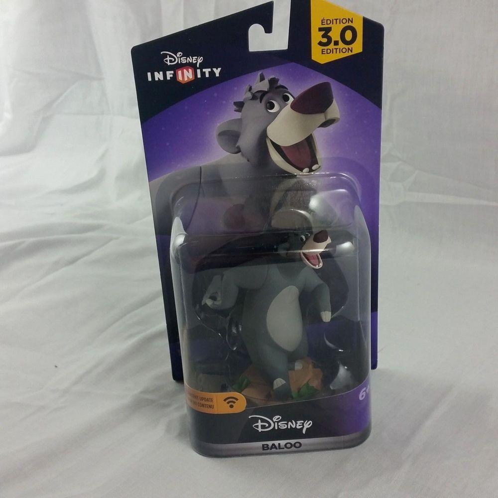 Baloo Figure Disney Infinity 3 0 Toy Box Jungle Book Bear Classic Character Disney Infinity Disney Treasures Disney Figures