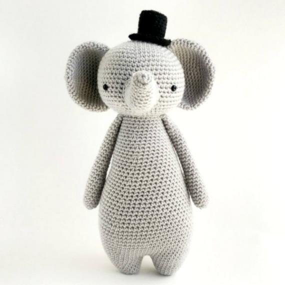 Luciana Ponzo Criações em Crochê: Receita Amigurumi Woodstock | 570x570