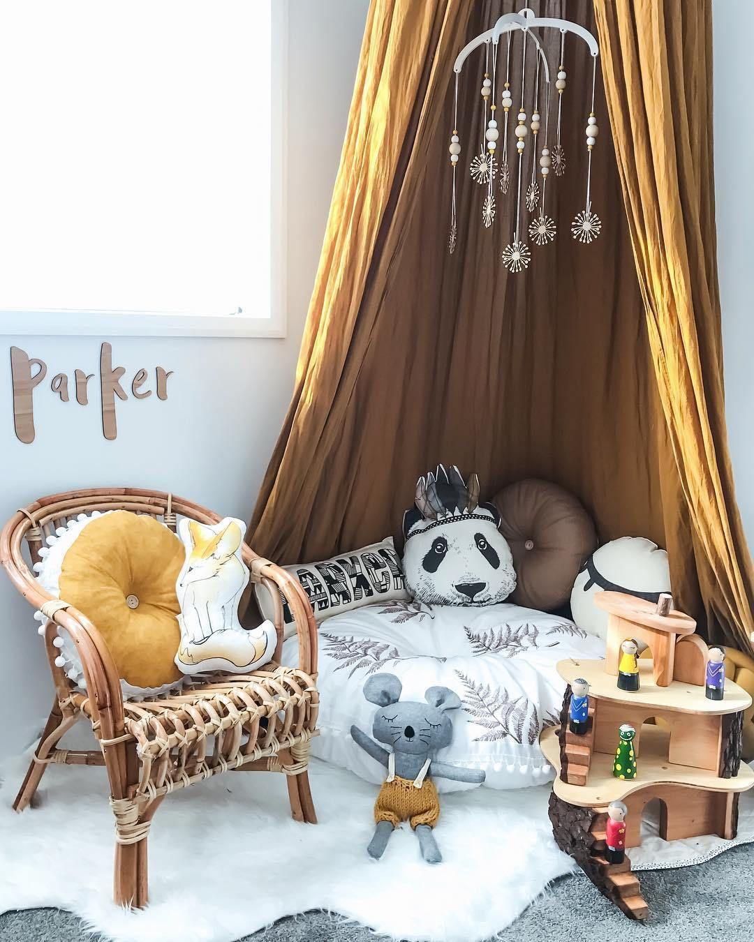 Une chambre d 39 enfant de r ve chambre d 39 enfant chambre enfant chambre b b foret d coration - Ou mettre son lit dans une chambre ...