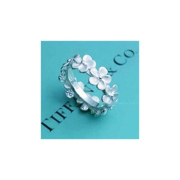 Jewels: tiffany, tiffany&co, ring, mini, flowers - Wheretoget