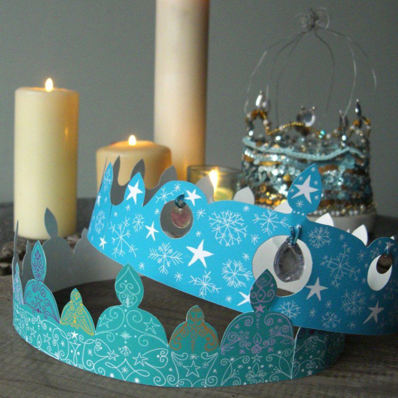 3 couronnes t l charger pour l epiphanie crawon galette des rois couronne des rois - Couronne galette des rois a decouper ...