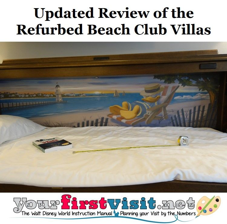 Disney Vacation Club Updated Review Of The Refurbed Beach Villas New Photos Room Planore