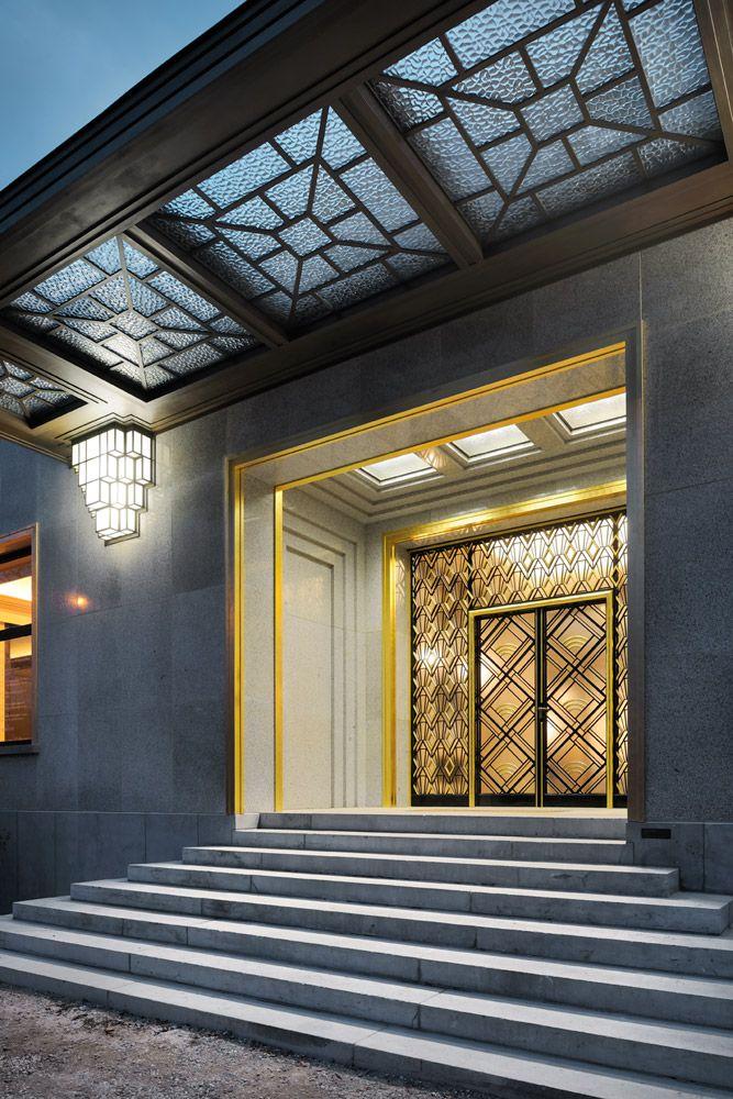Exterior: Architecture - Art Deco