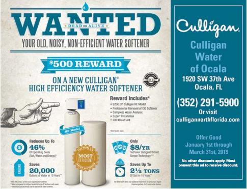 Culligan Water Of Ocala Culligan Water Softener Softener