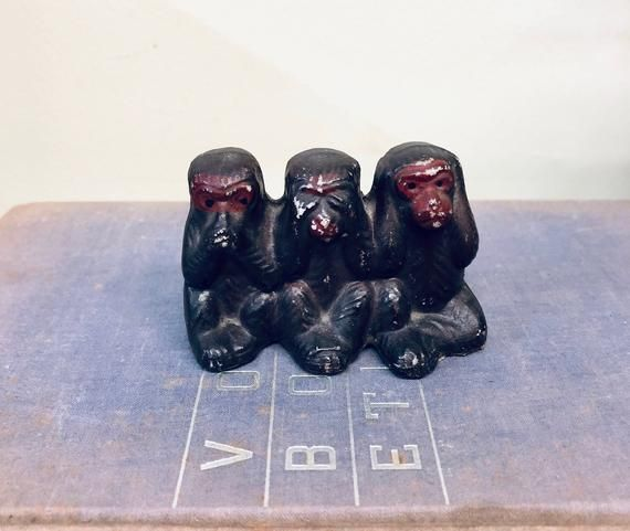 three wise monkeys hear no evil see no evil speak no evil animal rh pinterest cl