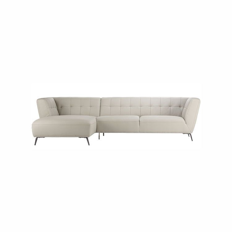 paris sectional modern living room furniture leather sectional