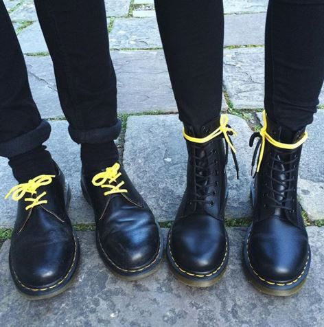 9b3a3c5901a94 The 1461 shoe and the 1460 boot. Shared by siobhxncorbin on Instagram.