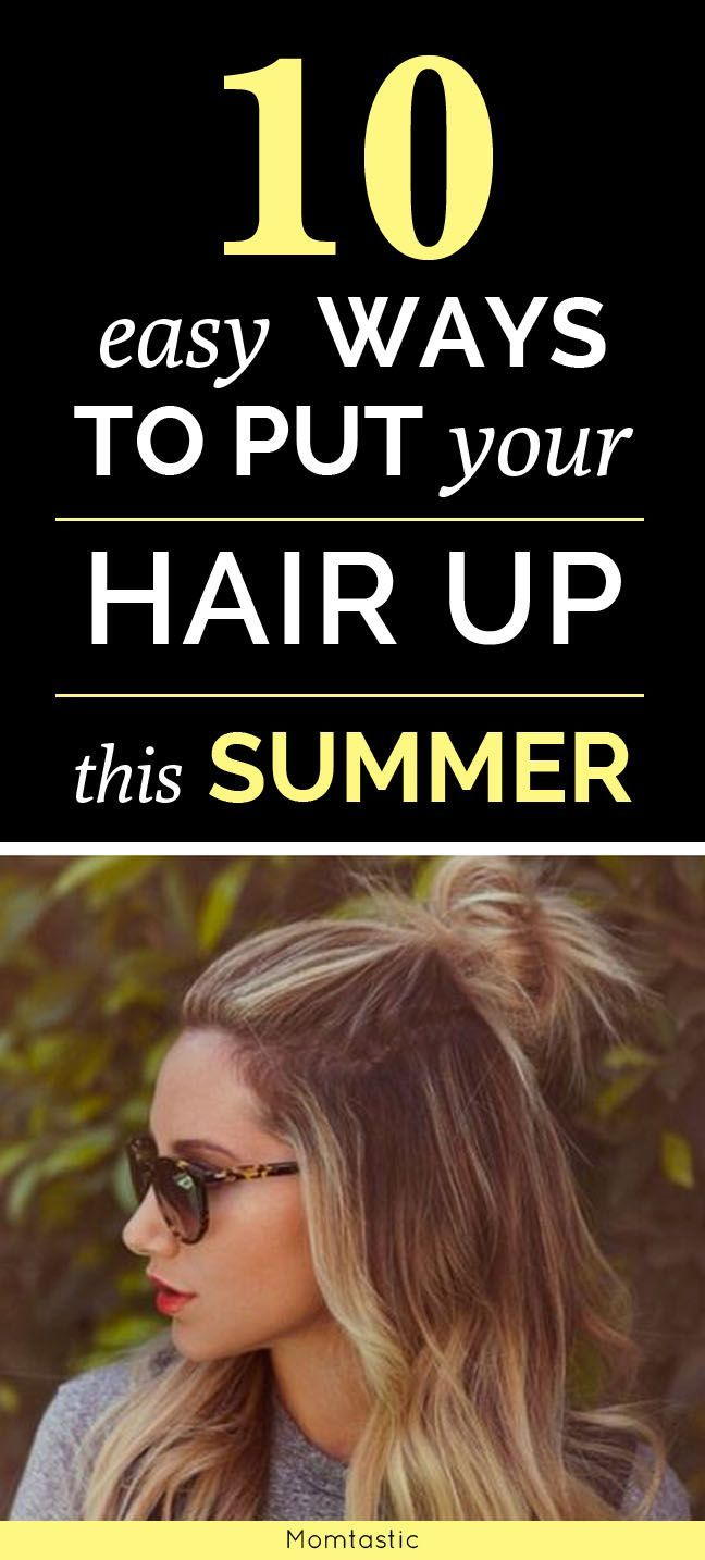 31 Easy Ways To Put Your Hair Up (Beyond A Basic Ponytail