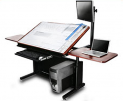 Drafting Table Computer Desk Combo   Google Search