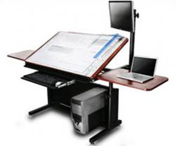 Essential Drafting Tools Architects Desk Design Studio Office