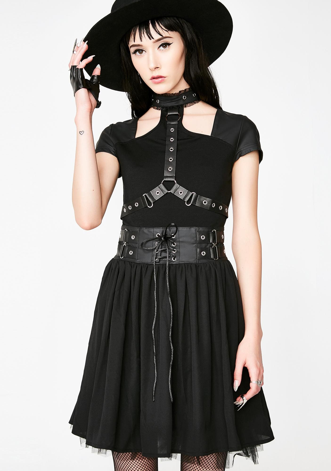 01595a0731 Midnight Muse Harness Dress