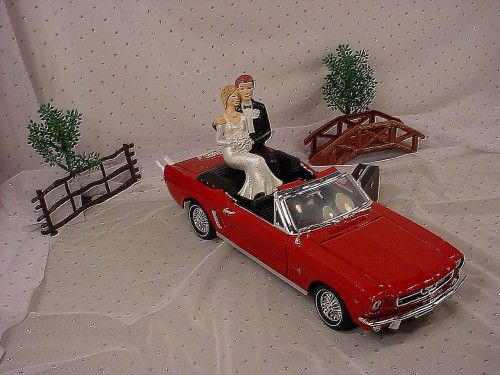 ford truck wedding cake topper 1964 ford mustang car wedding cake topper 80 99 i so 14404