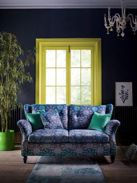 Matthew Williamson For Duresta Bespoke Furniture Range   Butterfly Wheel  Sofa | Interior Design Ideas | Pinterest | Bespoke Furniture, Matthew  Williamson ...