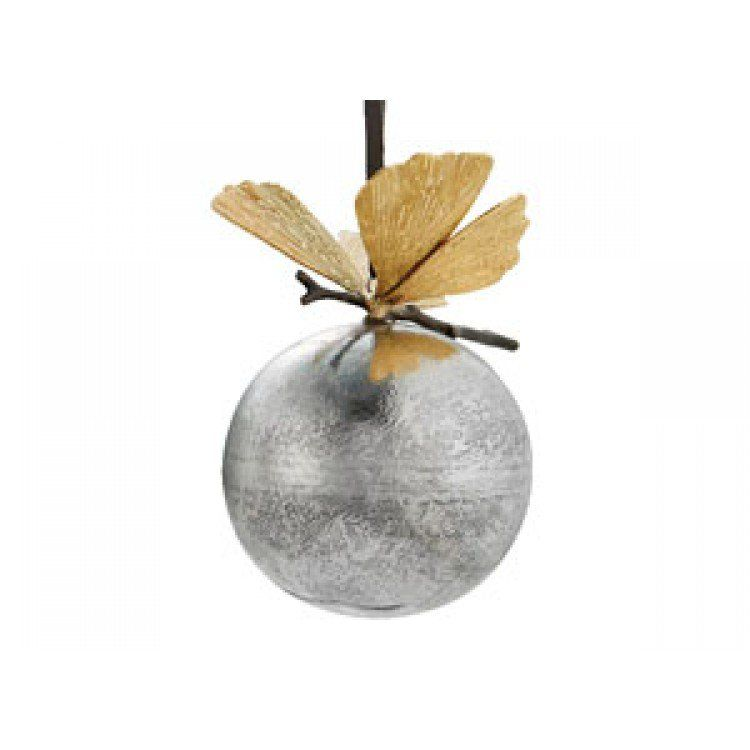 Michael Aram, Ginkgo Ornament, Buy Online at LuxDeco.com