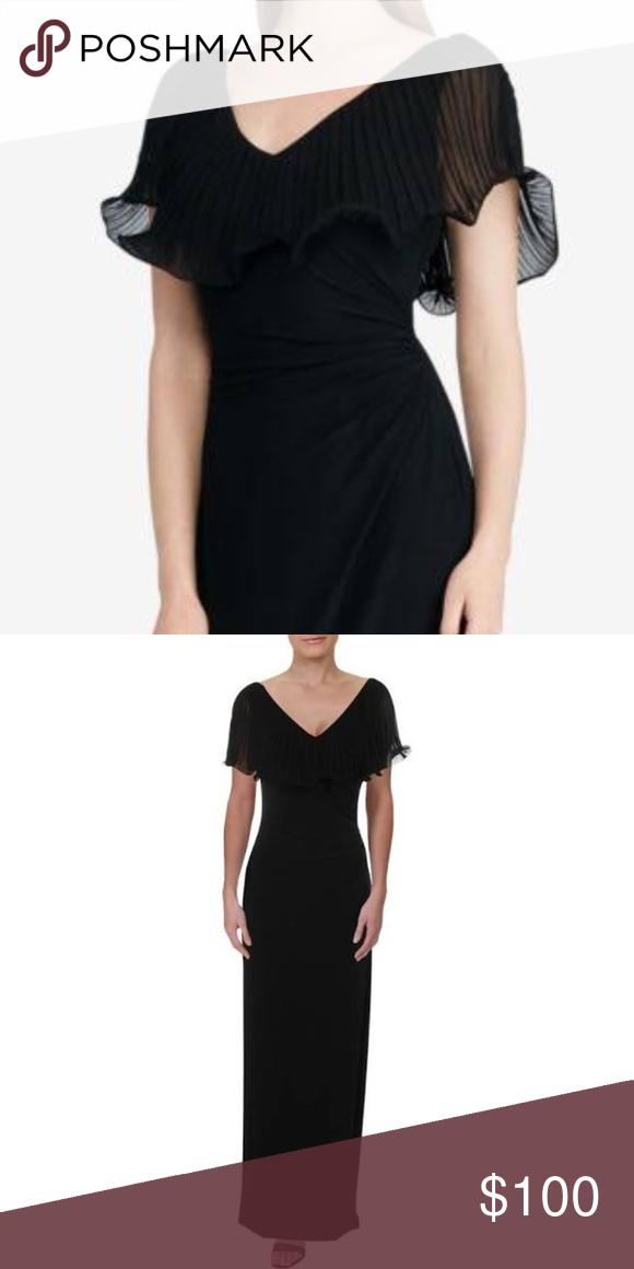 NWT! Ralph Lauren Fiorra Evening Gown Maxi Dress