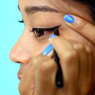 erica's 60second cat eye for beginners  eye makeup tips